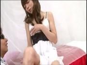 モデル系ニューハーフが着衣セックスしてるニュハーフ動画